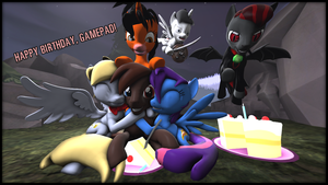 Present for Gamepad 2014! by VictriaOfArgus