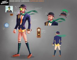 Sunset Overdrive Contest Entry: Dapper Dan-Gerous by GrizzlySlippers