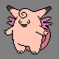 036 Clefable by jokernaiper