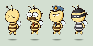 Bees by thetaupe