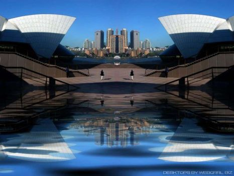 Sydney Twin Opera by webgrrl