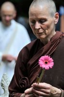 Buddhist Nun by Talkingdrum