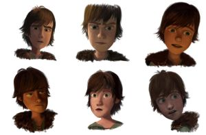 Hiccup screenshot study by sisaat