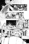 Transformers: Dark Cybertron #1 Page 7 Inks by curiopraxis