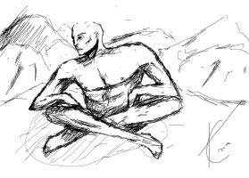 Enlightenment Sketch by TheChabot