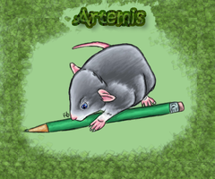 Rat Goddess 'Artemis' by HarvestPicori