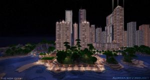 Aurora City Project [Minecraft] [09] by NickPolyarush