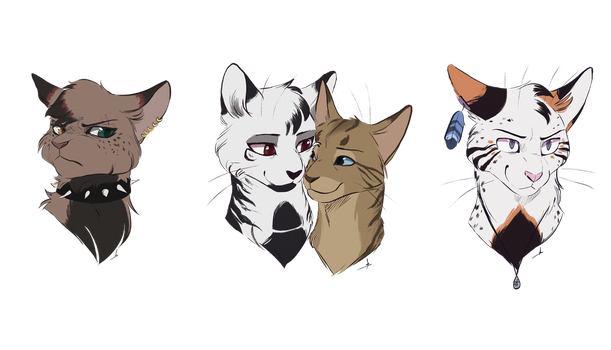 Lots of busts by OwlCoat