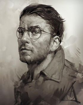 Harry by AaronGriffinArt