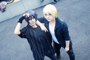 Noctis and Prompto - Final Fantasy XV - Cosplay(2) by VonCosplay