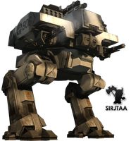 Battlefield 2142 Mech by Jtaa
