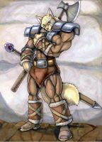 duke the warrior by wolfgangcake