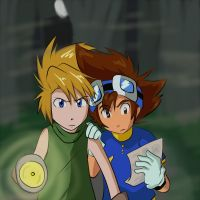 Digimon: Yamachi - 1 out 8 better hurry by Shigerugal