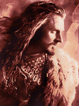 Thorin Oakenshield Cross Stitch Pattern (Large) by shingorengeki