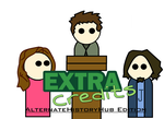 Extra credits crew in AHH edition by Disney08