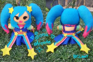 Sona arcade plush by lawy-chan