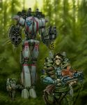Forest Patrol by Caveatscoti
