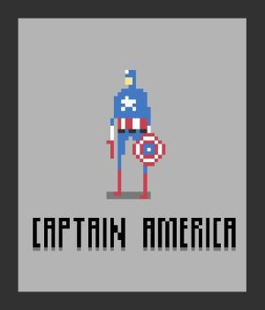 Captain America by crowecrowe