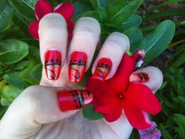 Ruby Bazaar Nail Art by MissDaniLips