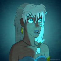 Disney Ladies: Kida by Mangsney