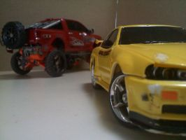 Nissan - Off-road and On-road by Kai-Taks