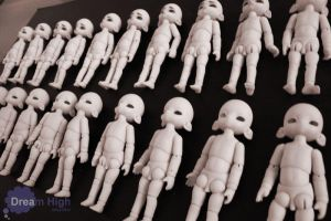 Bunko resin casts by DreamHighStudio