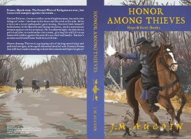'Honor Among Thieves' book cover by thetavernknight