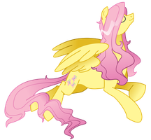 Drawing a Day - Fluttershy by sunflic