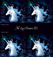 The Last Unicorn 3D by carpenoctem410