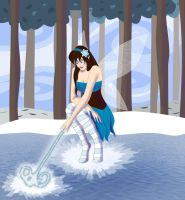 Frost Fairy by vickigia
