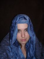 blue cloaked4 by honey-stock