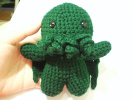 Amigurumi cthulhu front by ChiJadey