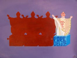 Pope Goes the Weasle by ruthey