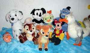 Disney Plush Collection 2012 *Update* 3 by kratosisy