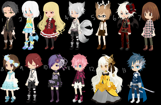 Dreamselfy Adoptables (Free) (Closed) by Cochleadopts