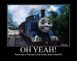 Thomas in Thomas and the Magic Railroad by JohnMarkee1995
