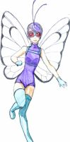Butterfree Moemon by Uzuki-chan