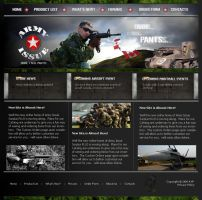 Army Issue Design by Panacea9