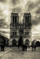 notre dame by Jh2