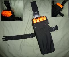 NERF Drop Leg Clip Holster /  Mag Pouch by MarcWF
