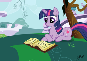 Twilight reading by Sandra626