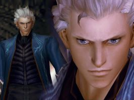 DMC3 Vergil wallpaper by Lady-Midori