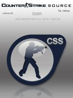 Counter-Strike: Source icon by vaksa