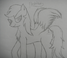 FlashFlood (My Own Little Pony) by Xx-kage-tsuki-xX