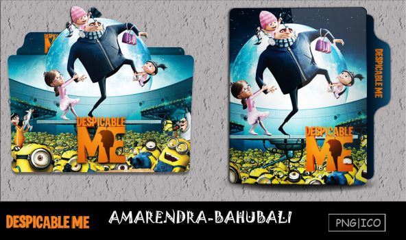 Despicable Me (2010) folder icon by AMARENDRA-BAHUBALI