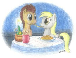 NATG 2 - Pony on a Date by Videogamer-Phil