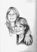 mom and daughter by winstonscreator