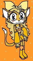 Taily as a Cat by PowderPuffBunny