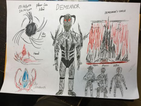 Art of The Tooniverse Emissary # 1 : Demeanor by Khai2000