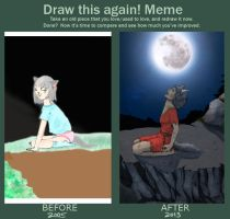 Before And After Meme by Kler-z